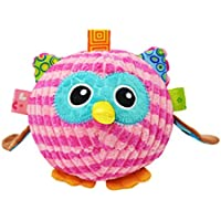 Edtoy赤ちゃん用ぬいぐるみインタラクティブボールクリエイティブインテリジェンスRattleおもちゃ、フクロウ