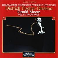 Salzburg Festival Live, Vol. 4: Hugo Wolf by Dietrich Fischer Dieskau (1994-04-20)