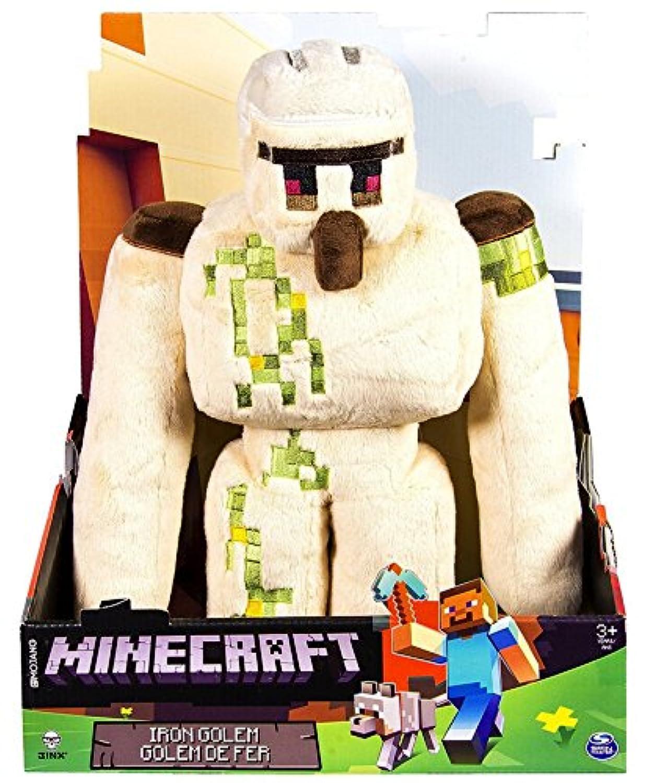 Minecraft Iron Golem 13inch Plush マインクラフト アイアンゴーレム 33cm ぬいぐるみ [並行輸入品]