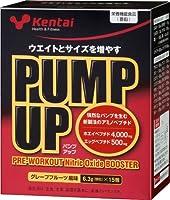 Kentai PUMP UP(パンプアップ)分包 グレープフルーツ 6.3g×15包