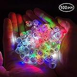 バルーン用 ライト LED 豆電球 お祭り 誕生日 パーティー 結婚式など装飾 LEDランプ 100個