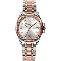 THOMAS SABO Women's TWA0219 Year-Round Analog Quartz Rose Gold Watch
