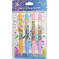 東京 ディズニーリゾート 35周年 ボールペン 4本セット フリクションボールペン  ミッキー&フレンズ Happiest Celebration !  ディズニーランド ディズニー 35th TDR