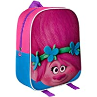 Original 3D Trolls Backpack, Official Licenced Trolls DreamWorks Backpack Poppy 3D EVA