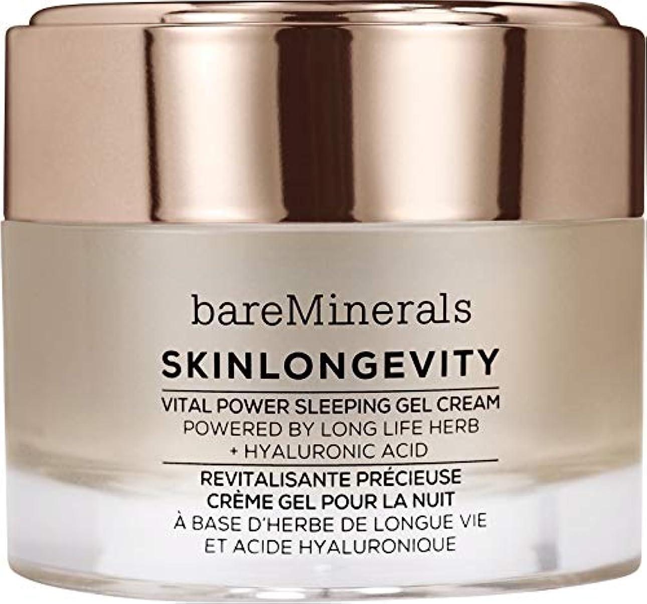 区画ナサニエル区約束するベアミネラル Skinlongevity Vital Power Sleeping Gel Cream 50g/1.7oz並行輸入品