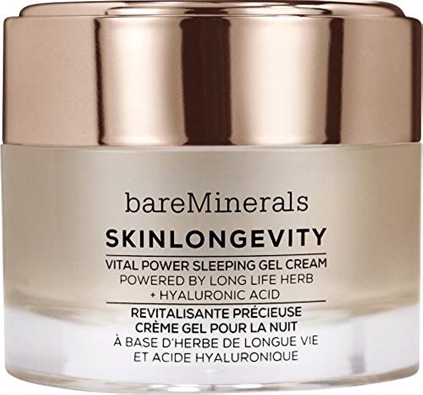 避ける手のひら同種のベアミネラル Skinlongevity Vital Power Sleeping Gel Cream 50g/1.7oz並行輸入品