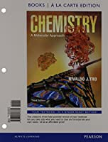Chemistry: A Molecular Approach, Books a la Carte Edition; Modified MasteringChemistry with Pearson eText -- ValuePack Access Card -- for Chemistry: A Molecular Approach;  Student Solutions Manual for Chemistry: A Molecular Approach, Books a la Carte (3rd Edition)