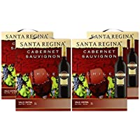 サンタ・レジーナ カベルネソーヴィニヨン バッグインボックス 3000ml×4本 [チリ/赤ワイン/辛口/フルボディ/4本]
