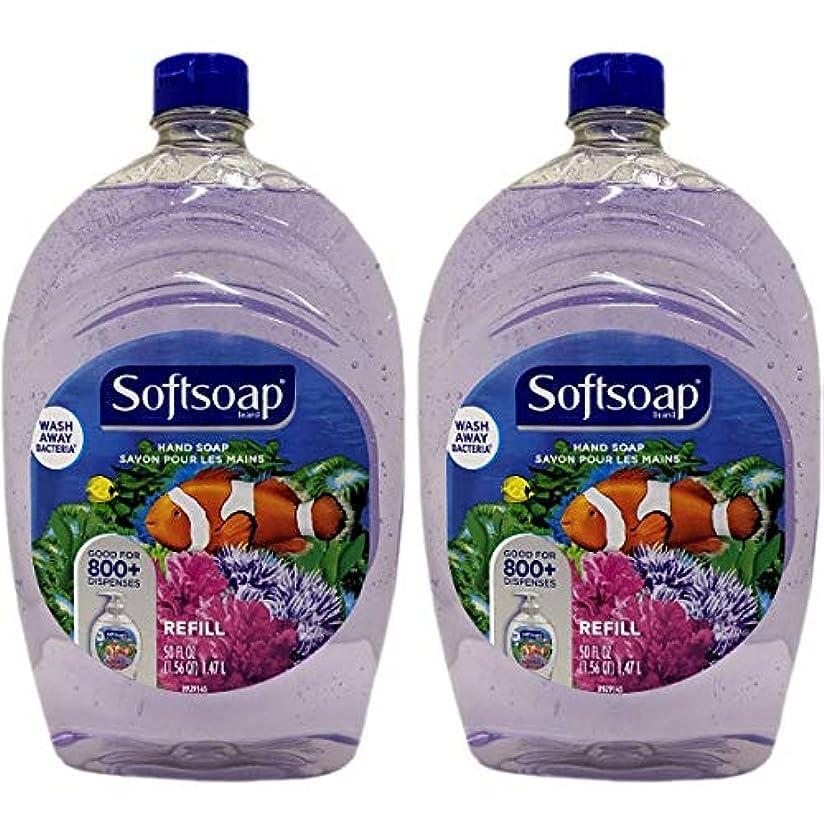 欠点イタリックデンマークSoft Soap ソフトソープ リフィル 1.47L x 2個