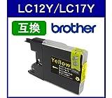 Amazon.co.jpブラザー Brather◆LC12Y/LC17Y(イエロー)対応 LC12/LC17系 互換インクカートリッジ