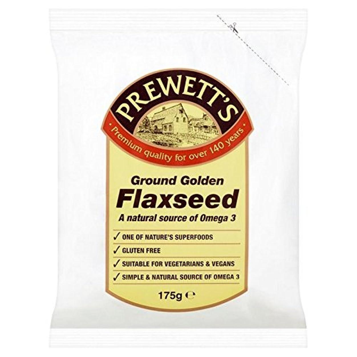 血統錆び該当するPrewetts Ground Golden Flaxseed 175g (Pack of 6) - Prewettsグランド黄金の亜麻仁の175グラム (x6) [並行輸入品]
