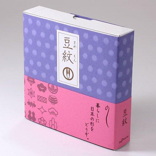 紋切り型 豆紋10×10cm色紙150枚付き