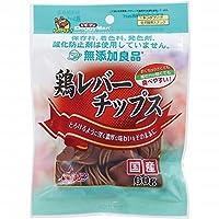 (まとめ買い)ドギーマン 無添加良品 鶏レバーチップス 60g 【×18】