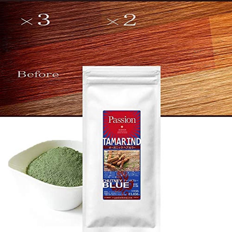 スクラッチ化学薬品モバイルタマリンド TAMARIND CHUTNEY BLUE チャツネブルー 50g (発色調整|髪色を落ち着かせる)
