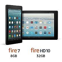 【セット買い】Fire 7 8GB + Fire HD 10 32GB