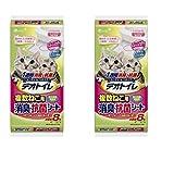 【2個セット】ユニ・チャーム デオトイレ 1週間 消臭・抗菌 複数ねこ用シート 8枚入り×2袋