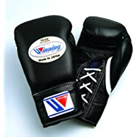 【Winning/ウイニング】 プロ試合用ボクシンググローブ10オンス ブラック