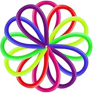 1st market プレミアム6本の伸縮性のあるロープは、子供と大人のためのストレスと不安のおもちゃギフトを減らします