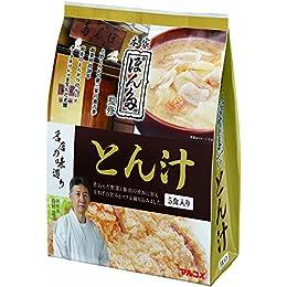 マルコメ 名店の味巡り ぽん多 とん汁 即席味噌汁 5食×7袋