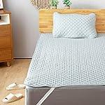 【さらに60%OFF!】Bedsure リバーシブル シングル ベッドパッド 100×205cm 和風