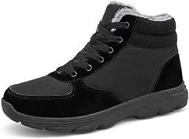NAUVENO スノーシューズ メンズ レディース 防水 防寒 保暖 裏起毛 冬用 カジュアル 防滑の綿靴 雪靴 通学 通勤用