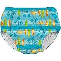 アイプレイ iplay オムツ機能付 水遊び用パンツ スイムダイパー スイミングパンツ 男の子 XL:24ヶ月/11.5-13.5kg Aqua Surfboard