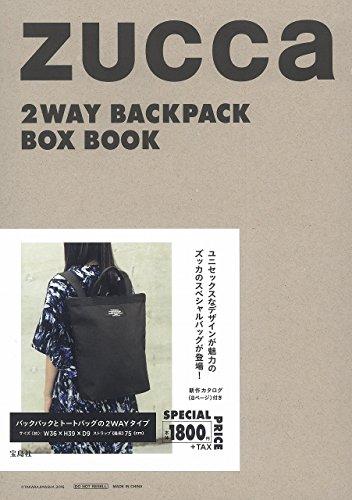 ZUCCa 2WAY BACKPACK BOX BOOK (バラエティ)