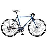ミヤタ(MIYATA) フラットハンドルロードバイク フリーダム フラット AFRT488/528 ブルー/ブラック 52cm