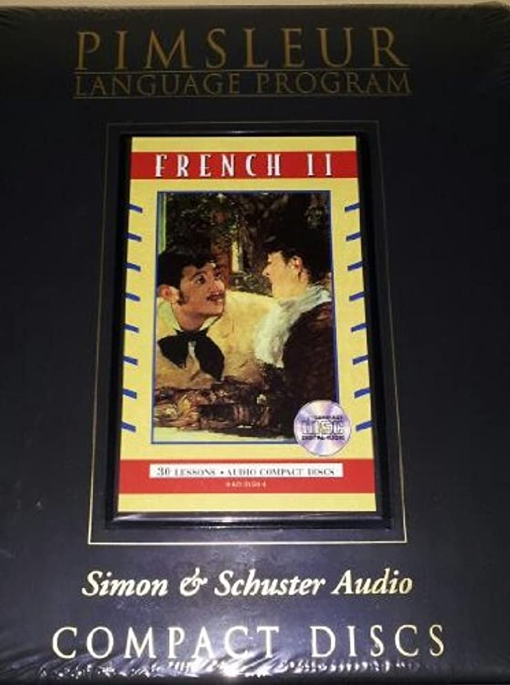 地中海浮浪者学校教育French II - 2nd Ed. Rev.: 2nd Ed. Rev. Euro (Pimsleur Language Program)