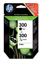 WkナBd atramentowy HP Ink Cart 300/Black+Color ComboPack