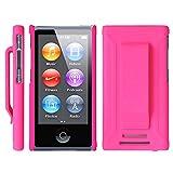 Apple iPod nano 7 ケース クリップ ハード カバー MY WAY™ 7th PC Clip Case + 保護 フィルム Pink ピンク