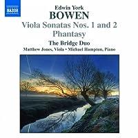 ボーエン:ヴィオラ・ソナタ 第1番&第2番 幻想曲