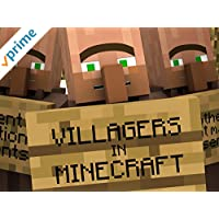 Villagers in Minecraft
