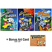 The Brave Little Toaster: Complete Animated Movie Series DVD Collection - 3 Films + Bonus Art Card [並行輸入品]