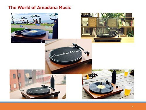 Amadana Music UIZZ-18520 レコードプレーヤー SIB...
