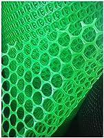 子供の安全ネット、バルコニー、パティオや手すり階段ネッティング、キッズ/ペット/おもちゃのための安全な鉄道ネット、丈夫なメッシュプラスチック素材、緑の色 フェンス 手すり ネット 園芸用ネット 高所 防犯 防獣、窓部、屋内など怪我防止 危険防止 簡単設置 (Color : Green, Size : 2x6m)