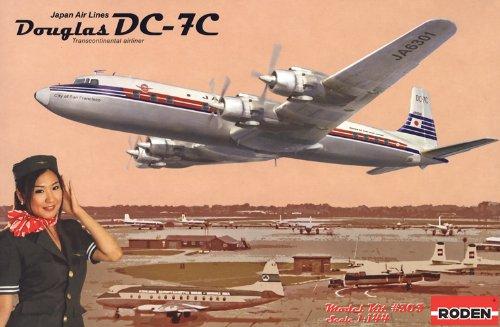 1/144 ダグラス DC−7C 日本航空