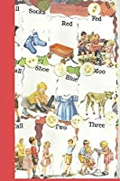 "Socks: See Dick & Jane's Crazy Quilt Notebook, Journal for Writing, Size 6"" x 9"", 164 Pages"