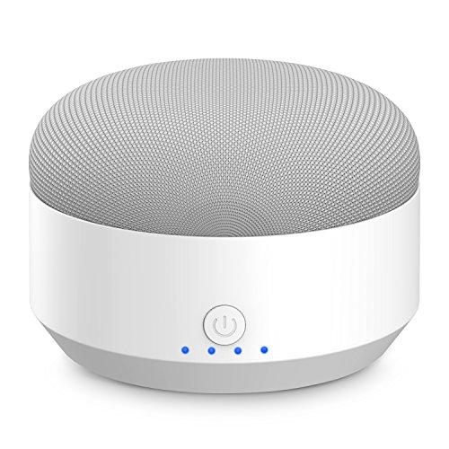 MYRIANN Google Home Miniバッテリーベース 充電台 5200mAhバッテリー内蔵 持ち運び 10時間再生延長 スタンド機能 急速充電 設置簡単 USBケーブル付き (ホワイト)