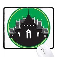タイタイシールドで作られた寺院 ノンスリップパッドゲームオフィスブラックtitchedエッジの贈り物