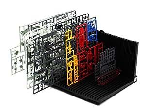 (FUPUONE) プラモデル用 パーツ立て ランナースタンド 開閉式 L型 折り畳み式 作業効率アップ