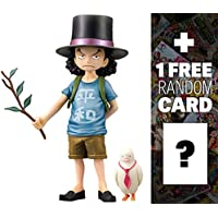 """Rob Rucci : ~ 5.9"""" One Piece DXF THE GRANDLINE CHILDREN figure vol。3+ 1Free official One Piece Tradingカードバンドル( 476873)"""
