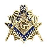 フリーメイソン ゴールド ブルー ピン ラペルピン pin030