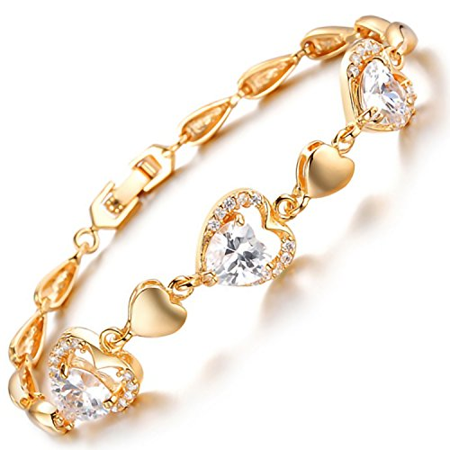 [해외]MAX World 팔찌 AAA 크리스탈 18 금 골드 휘루도 보석 팔찌 Cz 다이아몬드 18K Yellow Gold Filled 여성 패션 하토인하토 브레스/MAX World bracelet AAA crystal 18 gold gold filled jewelry bangle Cz diamond 18 K Yellow Gold Filled womens fa...