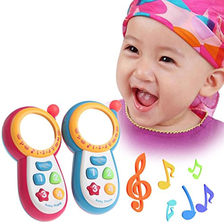 ベビーキッズMusical電話おもちゃサウンド学習幼児子供教育玩具ギフト