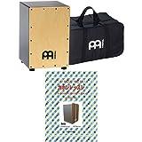 MEINL Percussion マイネル カホン MCAJ100BK-MA+(純正ギグバッグ付属) カホン教則本付き入門セット