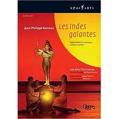 ラモーの《Les Indes Galantes 馨しきインドのあれやこれや》の商品写真