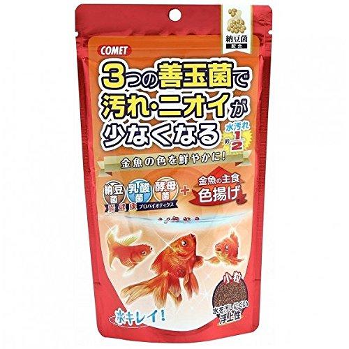 (まとめ買い)イトスイ コメット 金魚の主食納豆菌 色揚げ小粒 200g 【×6】