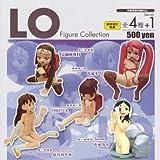 コミックLO フィギュアコレクション シークレット含む全5種セット(カプセル)