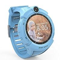 Hanbaili 高精細GPSトラッカースマートウォッチ セーフガードの位置監視 子供のための安全